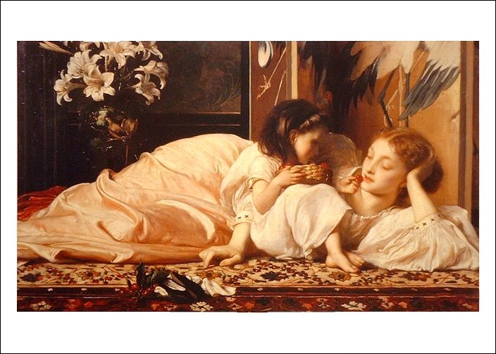 http://mehrabooon.persiangig.com/Lord_Frederick_Leighton_Mother_and_Child_cherries.jpg